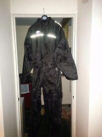 Oxford rain seal waterproof motorbike overall brand new never worn