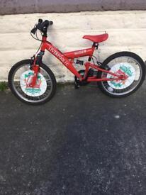 LFC childs bike SOLD