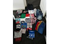 Boys bundle of clothes age ranging from 5-7