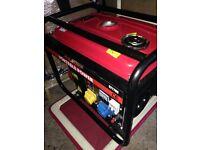 Generator free standing petrol driven