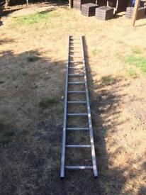 Aluminium Ladder - 11ft / 340cm Approx - Single Section