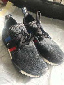 Adidas NMD R1 Primeknit Tricolor Size 7.5 / 8 UK Used