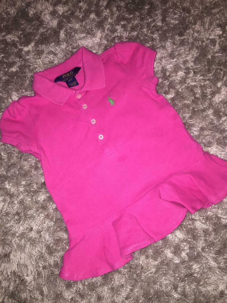 3f9fbc59a Girls Ralph Lauren peplum polo shirt | in Newcastle, Tyne and Wear ...