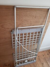 Silver Heated Clothes Airer