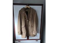 Camel duffle coat from Zara - Like new