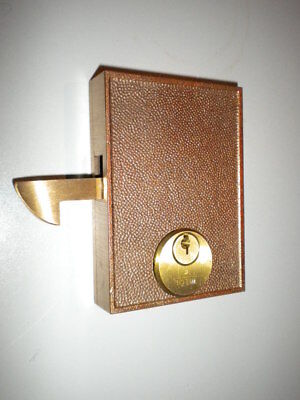 Welch Mortise Sliding Door Gate Lock Solid Brass Keyed Reversible Lhrh A