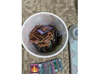 Yu Gi Oh Duel Disk and large volume of cards