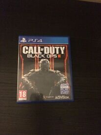 CALL OF DUTY BLACK OPS 3 PS4 IMMACULATE CONDITION USED ONLY ONCE £20