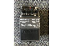 Boss RV-5 Reverb Pedal. Will travel to sell.