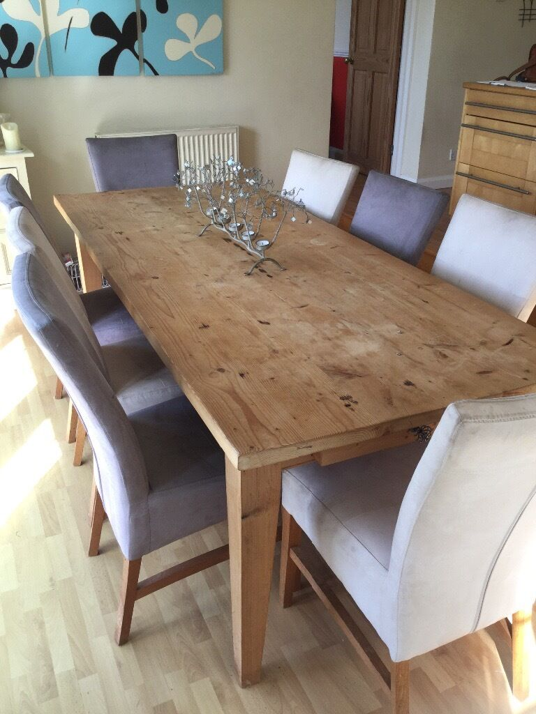8 faux suede dining room chairs in yealmpton devon gumtree 8 faux suede dining room chairs