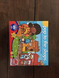 Pop to the shops children's board game brand new