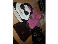 4 x handbags