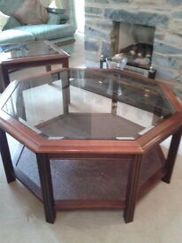 Large Octagonal Coffee Table