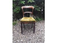 Vintage Balloon chairs x 4 . REDUCED