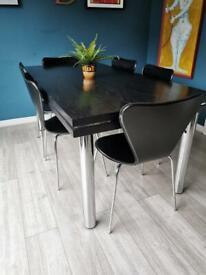 Stunning Mid Century Retro Pieff Dining Table - Habitat Heals Harrods