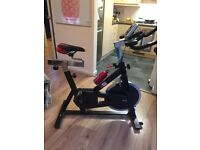 Spin bike great condition top of the range