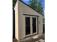 Clansman Modern Pod Log Cabin (fully insulated)- Ex-display
