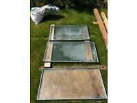 Window panels various sizes