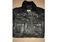 Female Real leather jacket- unwanted gift