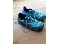 Nike Tri Fusion Run Trainer - turquoise - UK size 4