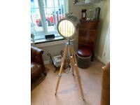 Tripod floor lamp £65.00 ONO