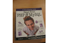 "University text book Computer ""Head First PHP & MySQL"""