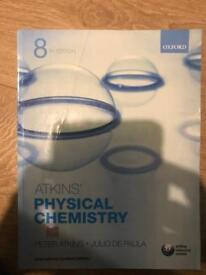 Atkins physical chemistry textbook - chemical engineering