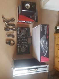 Pioneer XDJ-RX + Speakers Headphones Flight Case & More. ( PACKAGE )