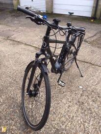 Kalkhoff Pro Connect 9G Electric Bike - 46cm Frame - Black