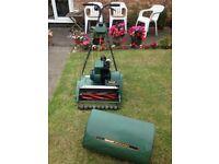 Suffolk Punch Qualcast Petrol Mower