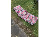 For Sale - cover for sunlounger as new