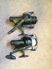Zebco fishing reels