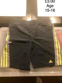 Boys Adidas Swimming Shorts 15-16