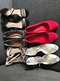 Size 7 ladies shoes, excellent condition