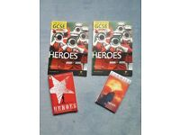 Heroes text and revision books for English Literature GCSE