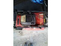 Mountfield petrol lawnmower. Working well until recently. Now seized.