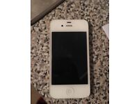 iPhone 4s good condition back of the phone is cracked 30 Ono