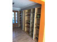 book shelves / CD and DVD shelves/ storages