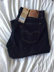 Levi Strauss 514 mens jeans w34 l30 Bnwt brand new designer