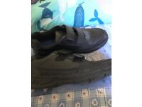 new clarkes school shoes worn couple times, good condition size 3 and half E