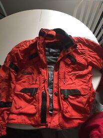 Ladies textile motorcycle jacket