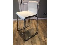 2 x IKEA Glenn bar stools
