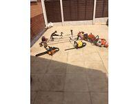 Spares/repairs mcculloch, kawasaki, stihl, dyna-power garden petrol tools