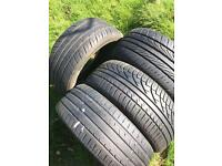 4x Tyres 205/50/R16 Minimal wear!