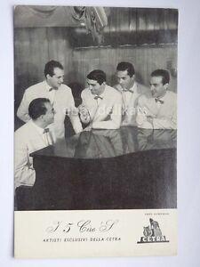 I-5-CIRO-039-S-CETRA-musica-vecchia-foto-cartoncino-pubblicitario