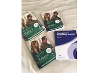 AAT Level 3 course books x4