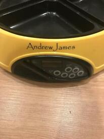 Andrew James pet feeder four compartments