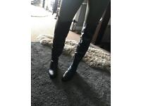 Dune Thigh High Boots Size 7/40