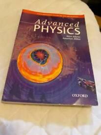 Advanced Physics by Steve Adams and Jonathan Allday