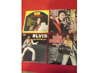 6 ELVIS VINYL LP RECORDS , ALL IN GREAT CONDITION